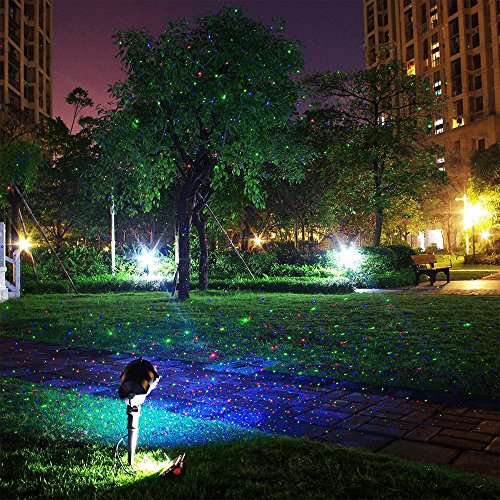 Landscape lights laser christmas party garden light stars firefly zitrades landscape lights laser christmas party garden light stars firefly projector indoor outdoor lighting with wireless remote aloadofball Choice Image