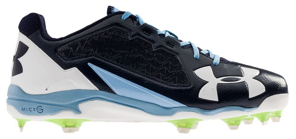 [アンダーアーマー] Under Armour Deception Low DT メンズ ベースボール [並行輸入品] B072FH1ZPJ US13.0|Navy/Carolina Blue/White Navy/Carolina Blue/White US13.0