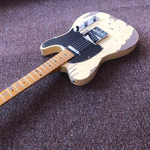 custom shop, TELE 6 Strings Maple fingerboard Electric Guitar,telecaster guitar relics by hands guitar