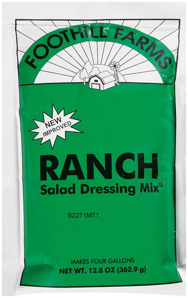 Foothill Farms Ranch Dressing Mix, 12.8 Ounce - 6 Case