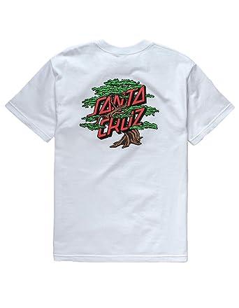 bd64759f8 Santa Cruz Bonsai Dot T-Shirt, White, Small