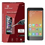 """Shatter Shield Tempered Glass For Xiaomi Redmi 2 / Xiaomi Redmi 2 Prime (4.7"""" Inch Display) (2.5D Curved Round Edges)"""