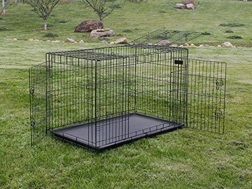 Easy Media Jaula Transportín cm 107 x 71 x 81 para perro mascotas ...