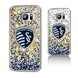 Sporting Kansas City Gold Glitter Case for the Galaxy S7 MLS