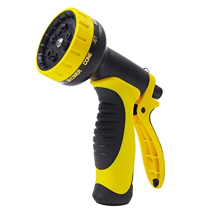garden hose spray nozzle. Garden Hose Spray Nozzle Black-yellow A