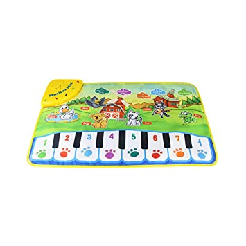Kids Baby Gift Toy Touch Play Learn Singing Piano Keyboard Musical Carpet Mat UK