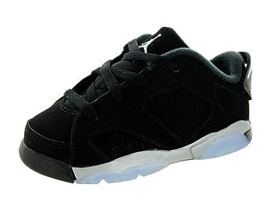 buy online df0b3 84120  768883-003  AIR Jordan AJ 6 Retro Low BT Infants Sneakers AIR JORDANBLACK