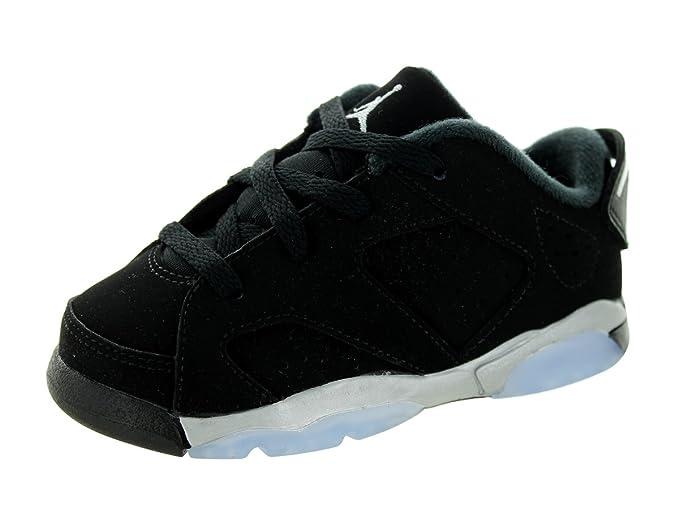 Nike Jordan 6 Retro Low BT Black White Silver 768883-003 (SIZE  7C)   Amazon.ca  Shoes   Handbags f3d9e0397