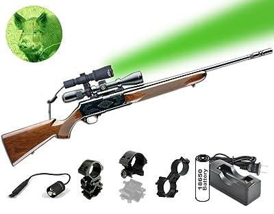 Orion Predator H30 Red or Green 273 yards Long Range Rechargeable Hog Coyote Fox Varmint Night Hunting Light Flashlight