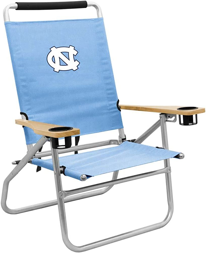 NCAA North Carolina Tar Heels Beach Chair