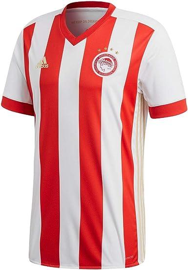 adidas Ofc H JSY - Camiseta de equipación - Línea Olympiacos FC Hombre: Amazon.es: Ropa y accesorios