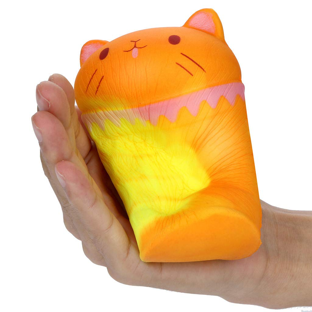 Amazon.com: MatureGirl Squeeze Temperature Color Change Squishies Cup Cat Slow Rising Scented Reliever Stress (Color Change Squishies Cup Cat): Toys & Games