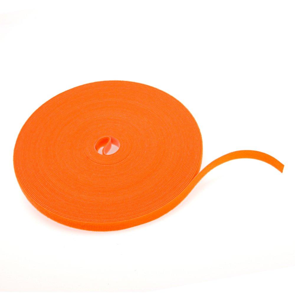 Leviton 43115-75O 75' Velcro Bulk Roll, Orange