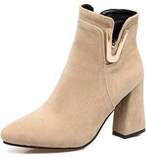 Women's Dressy Rhinestones Faux Suede Hidden Wedge Heel Inside Zipper Ankle Boots
