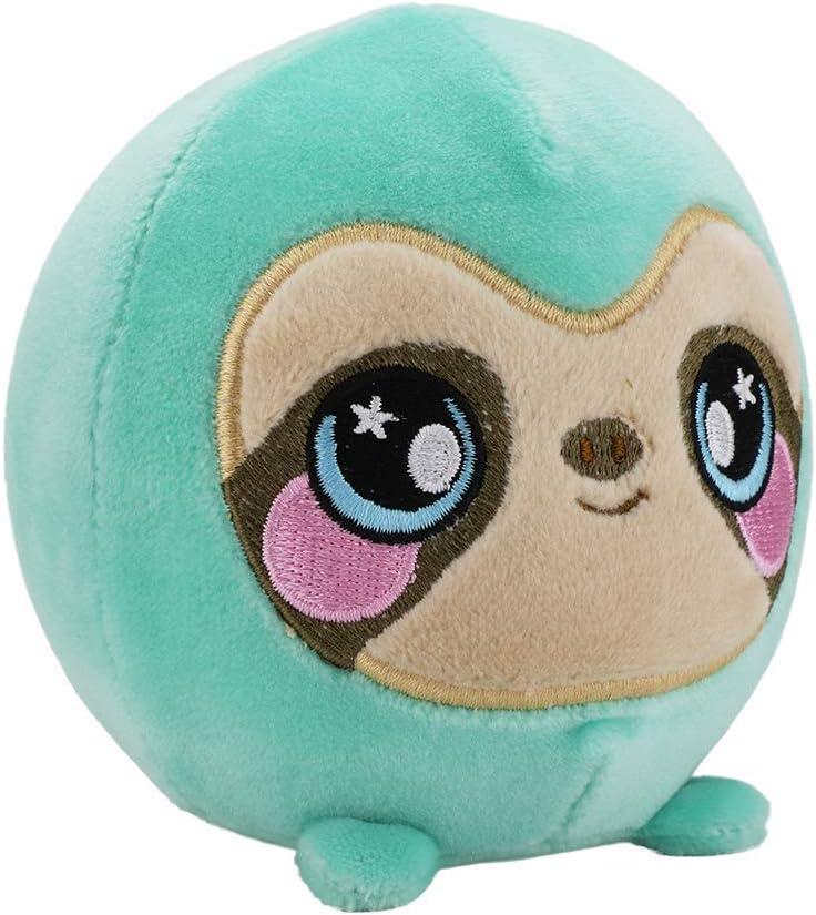 "Squeezamals, Samantha Sloth - 3.5"" Super-Squishy Foam Stuffed Animal! Squishy, Squeezable, Cute, Soft, Adorable!"