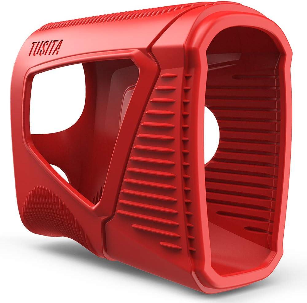 TUSITA Funda para Bushnell Pro XE - Estuche Protectora de Silicona para la Piel - Accesorios para telémetro láser de Golf Nikon Golf