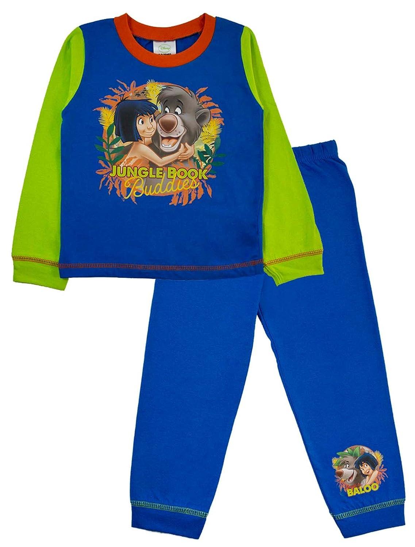 Disney Jungle Book Pyjamas Pjs Full Length Pyjama Set Kids Size 18