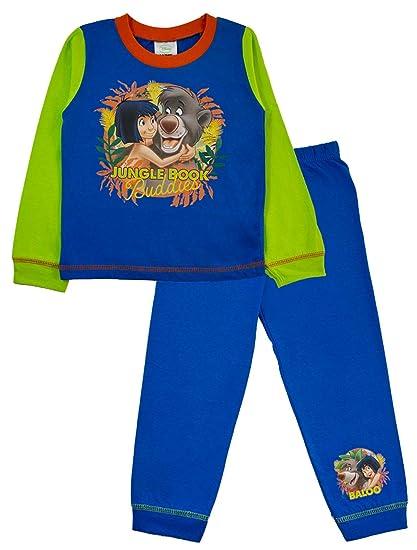 Disney - Pijama Dos Piezas - Manga Larga - para niño Azul Azul/Verde