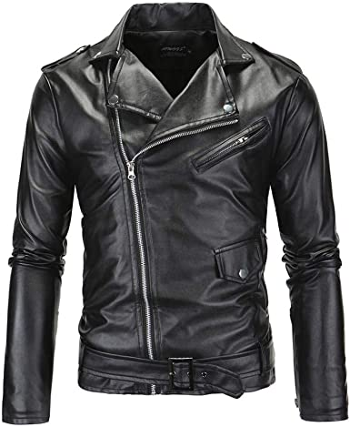 Men/'s Real Leather Motorcycle Vest Heavy Duty Buckled Rocker Biker Vest Punk