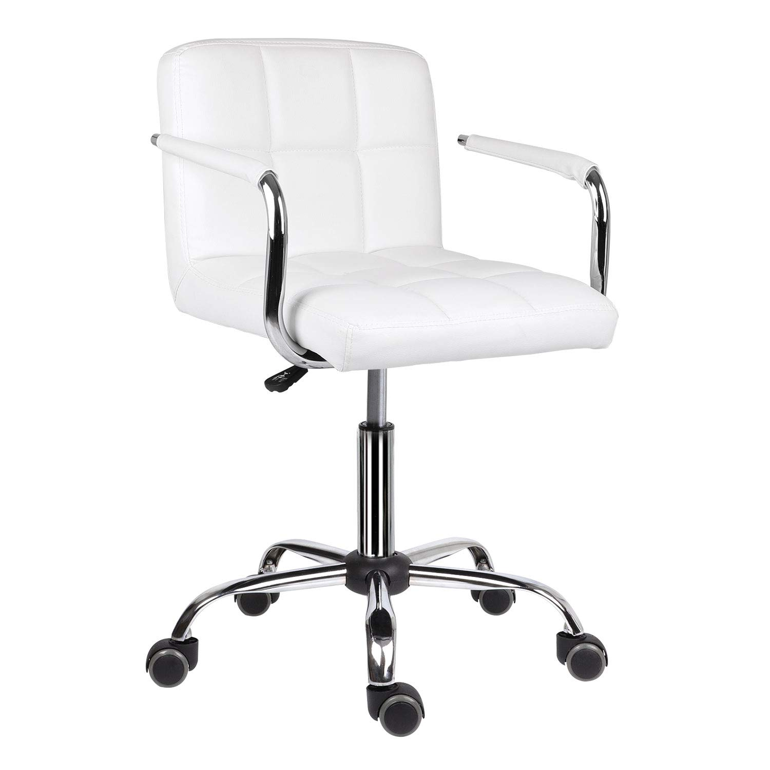 Desk Chair Leather Home Office Chair Com Buy Online In Hong Kong At Desertcart
