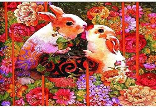Mopoq 大人、民族星座、ウサギのパズル木製のパズルは、Aのギフトとして使用することができます