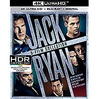 Jack Ryan 5-Film Collection [4K UHD Blu-ray/Blu-ray/Digital]