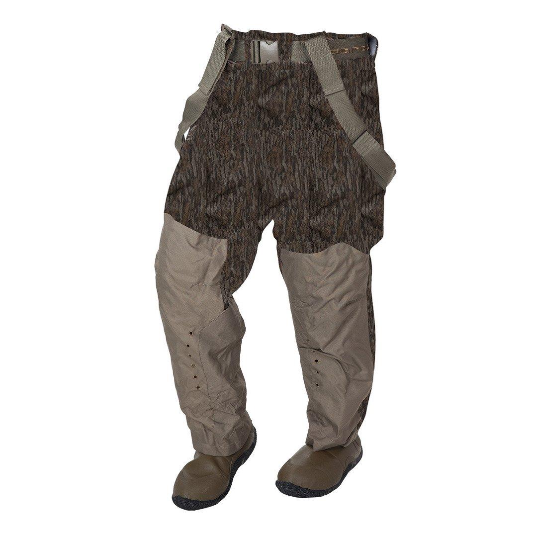 Banded RedZone通気性800gウエストWader、色ブレード(4472-par) B00VJ0YYSY  モッシーオークボトムランド(Mossy Oak Bottomland) Men's 10 Regular