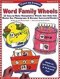 Turn-to-Learn: Word Family Wheels: Grade K-2