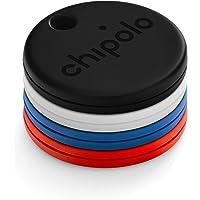 Chipolo ONE 4-pack (2020) - luidste waterbestendige Bluetooth-sleutelzoeker (ONE-4 Pack, meerdere kleuren)