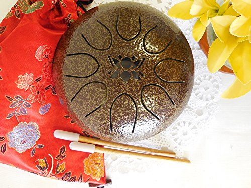 Used, Tongue Drum Steel Hand Drum Gentle Healing Sound, Wuyou for sale  Delivered anywhere in USA