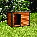 Precision Pet Petmate Extreme Weather-Resistant Log Cabin Dog House Adjustable Feet, 4