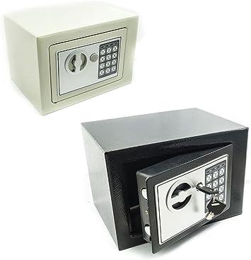 Omron - Pequeña Caja Fuerte electrónica de Pared con combinación: Amazon.es: Bricolaje y herramientas