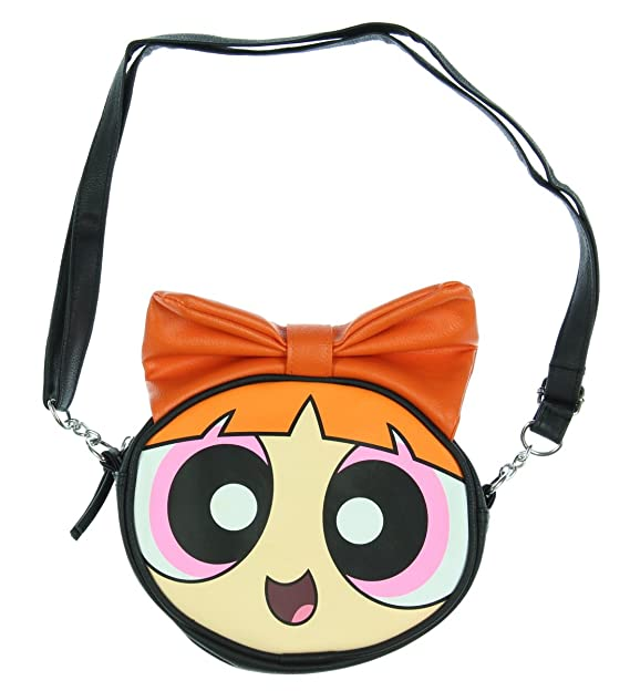 3432e9e458 Image Unavailable. Image not available for. Color: The Powerpuff Girls  Blossom Character Crosbody Bag