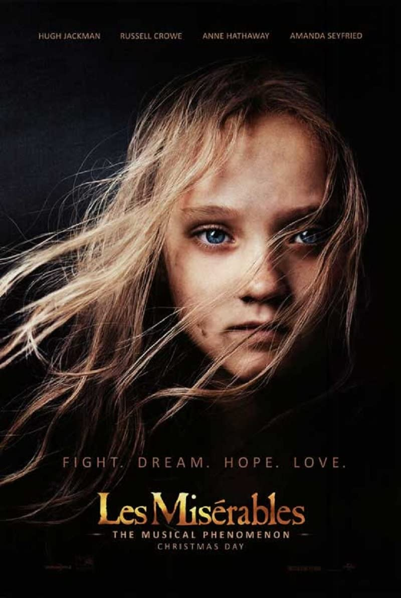 Les Miserables 2012 D S Advance Rolled Movie Poster 27x40 At Amazon S Entertainment Collectibles Store