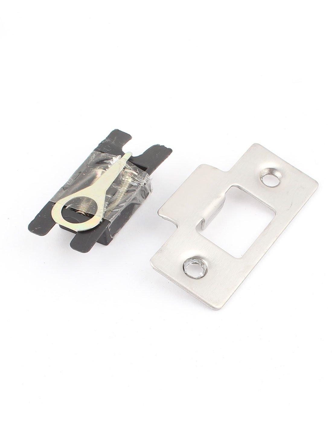 Aexit Serrure de porte /à cl/é /à poign/ée tubulaire en alliage de zinc /à la maison