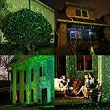 YUNLIGHTS Christmas Light Projector Red Green