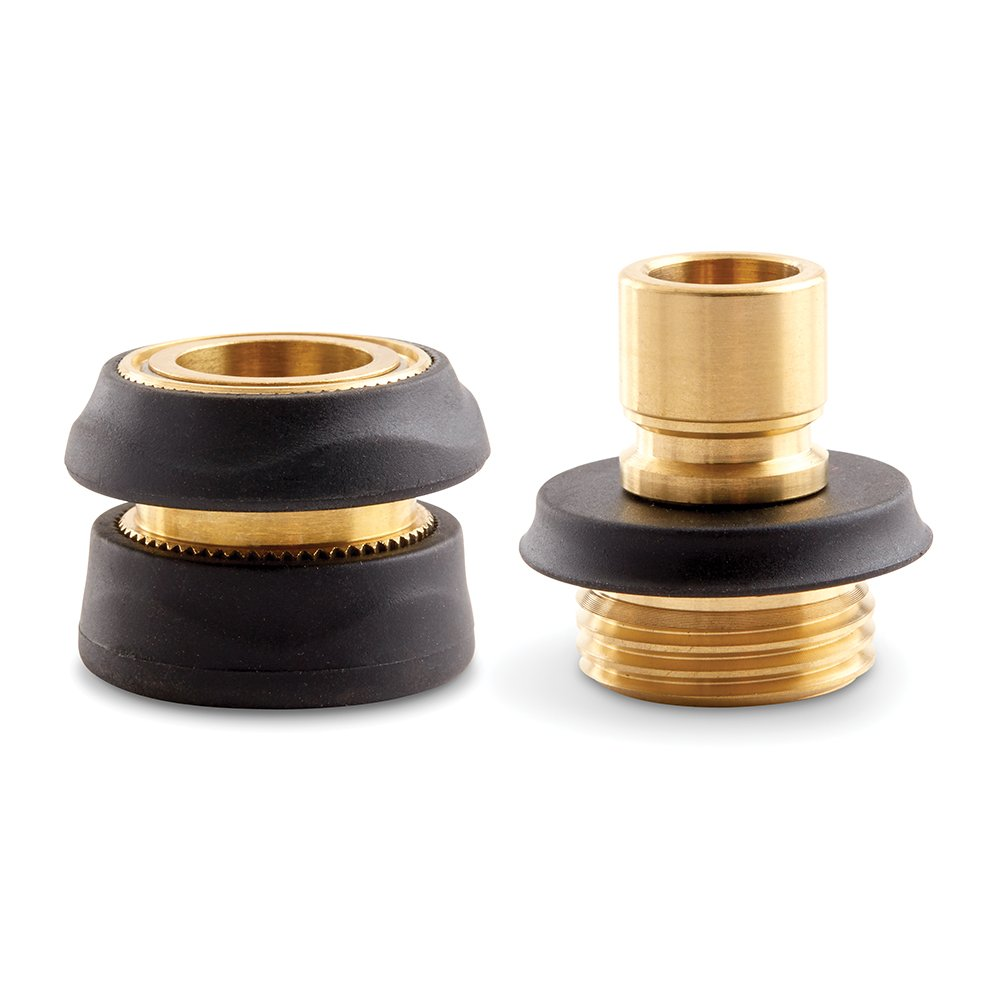 Gilmour Pro Quick Connect Set – Male and Female Brass