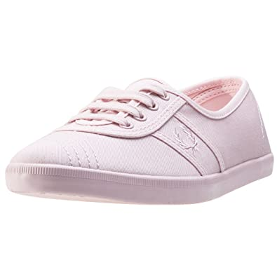 Fred Perry Aubrey - Zapatillas de Lona para Mujer Rosa Rosa, Color Rosa, Talla 6.5 UK: Amazon.es: Zapatos y complementos