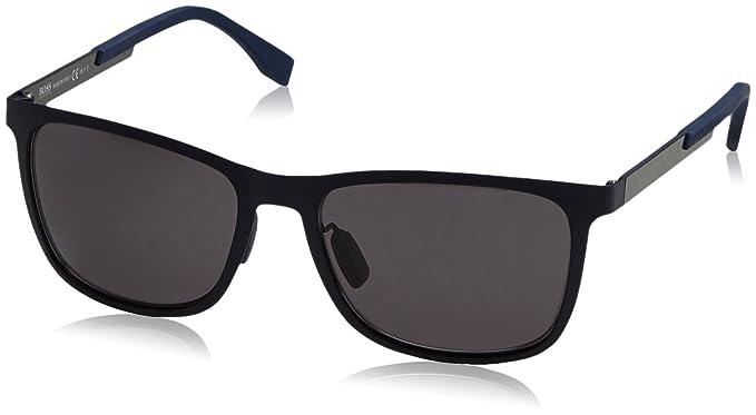 BOSS Hugo 0812/F/S 3H KCS Gafas de Sol, Azul (Mtblueecarbon ...