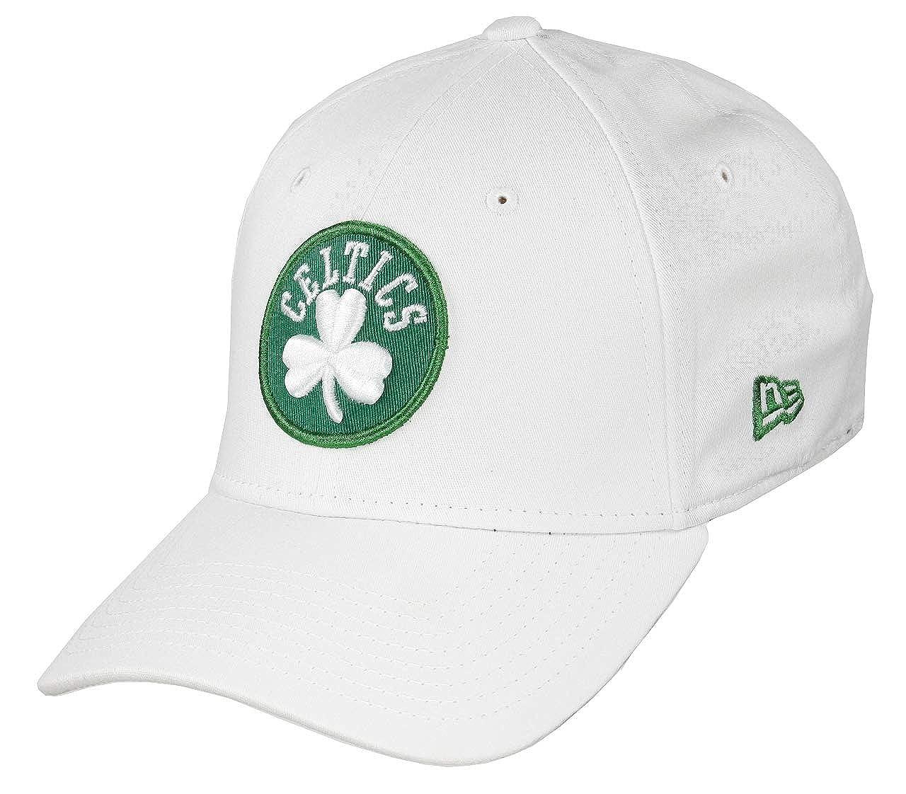 A NEW ERA Gorra 39thirty NBA Boston Celtics Blanco XS/S: Amazon.es ...
