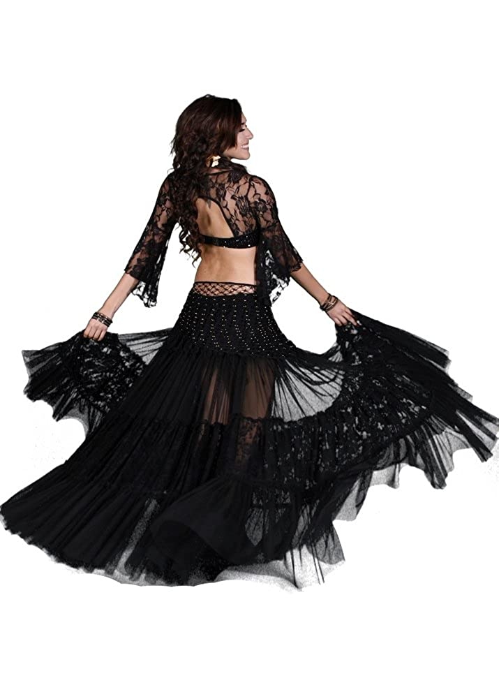Miss Belly Dance APPAREL レディース B00ZY1REWC ブラック