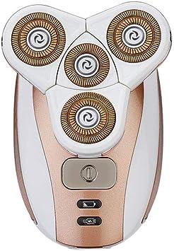 Afeitadora eléctrica para hombre máquina de afeitar barba de ...