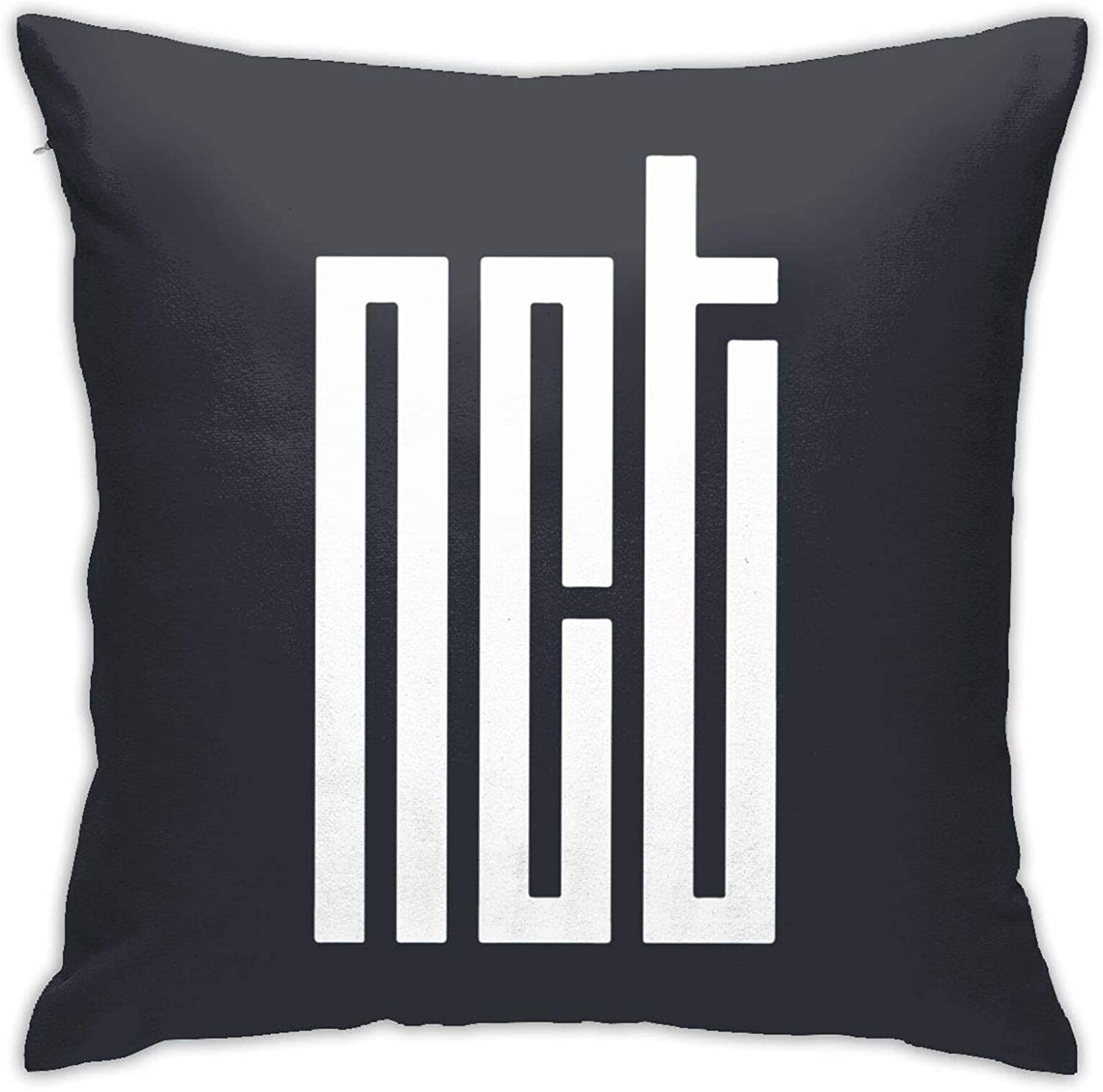 ETONKIDD NCT 2020 Home Decor Square Cover Pillow Cushion Covers Pillow Case, Soft Decorative Pillowcase for Couch Chair
