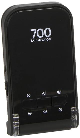 Wikango 700 - Avisador de radar,radares fijos y móviles, pantalla digital, alertas vocales, limitador de velocidad, bateria incluida, memoria de ...