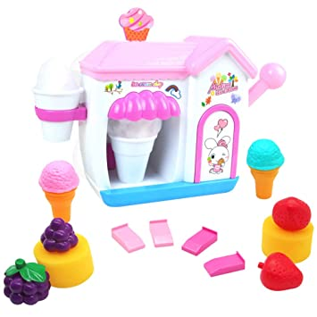 Toy Ice Cream Maker Foam Play Machine... Akokie Bubble Bath Toys
