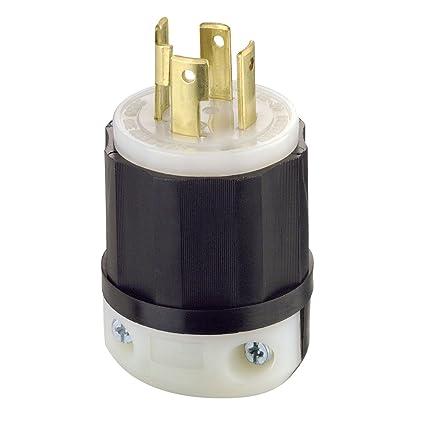 leviton 2731 30 amp, 480 volt 3 phase, nema l16 30p, 3p, 4w, locking