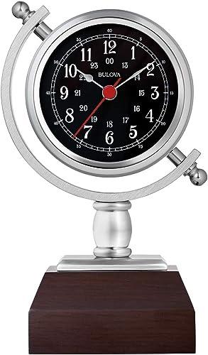 Bulova B5402 Sag Harbor Mantel Clock, 8.25 , Espresso Finish