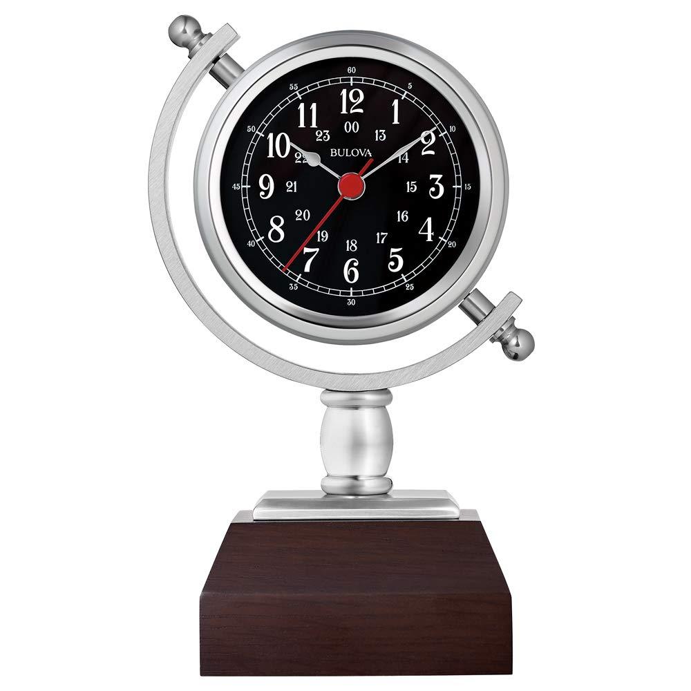 Bulova B5402 Sag Harbor Mantel Clock, 8.25