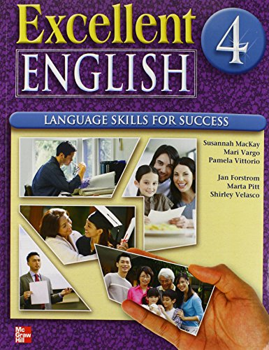 Excellent English Level 4 Student Book with Audio Highlights: Language Skills For Success