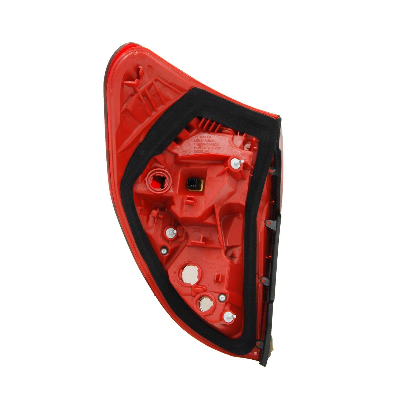 TYC 11-6307-01-1 Toyota Rav4 Right Replacement Tail Lamp